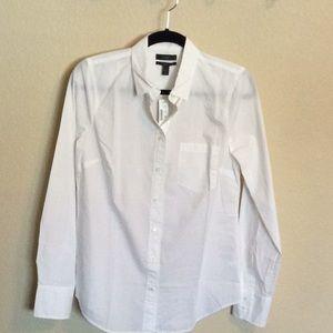 NWT J.Crew Perfect Button Down Shirt